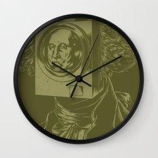 George WASHINGton Machine Wall Clock