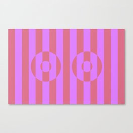Boobs Illusion Canvas Print