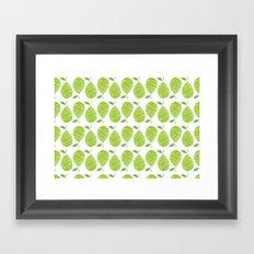 English Pear Framed Art Print