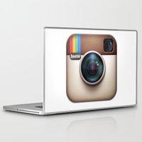 instagram Laptop & iPad Skins featuring instagram ipad  by onlinekw