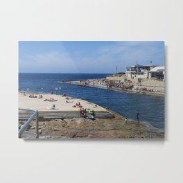 Clovelly Beach Metal Print