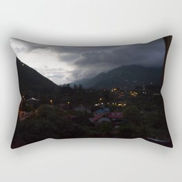 Baños at Night Rectangular Pillow