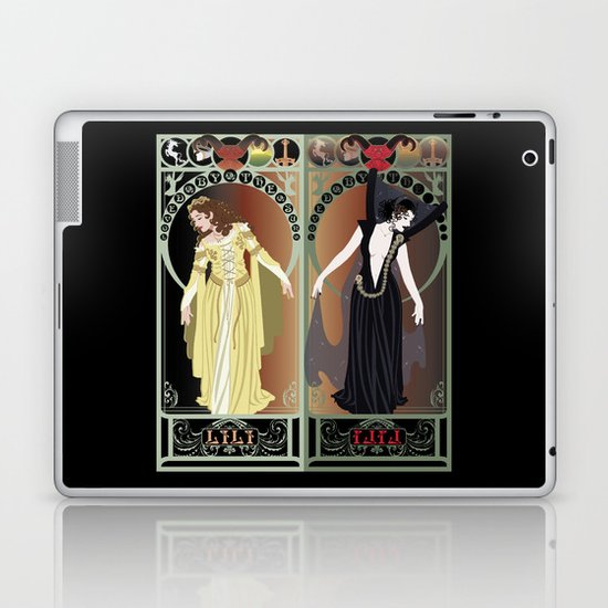 Legend Nouveau - Mirrored Laptop & iPad Skin
