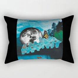 For Matt whose care for the outdoors still flows: 50% of sales of  prints go to Matthew Coleman Fund Rectangular Pillow