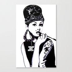 Audrey Hepburn. Rebel: Chola. Canvas Print