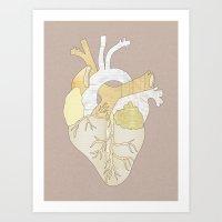 A Heart Unwritten Art Print