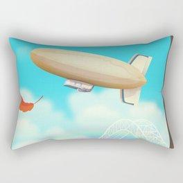 Blimp Rectangular Pillow