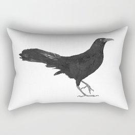 Great-tailed grackle Rectangular Pillow