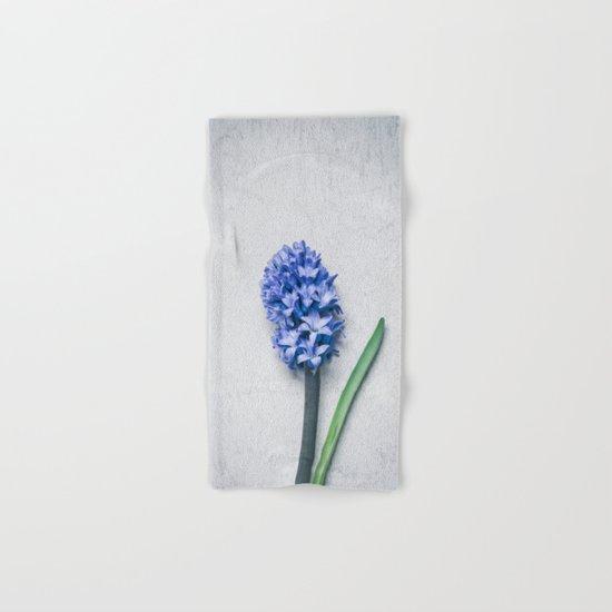 Blue Hyacinth Hand & Bath Towel