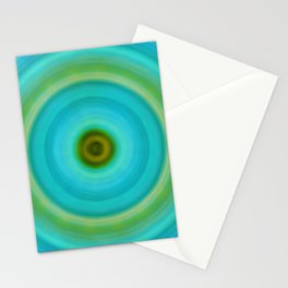 Soft Healing - Energy Art By Sharon Cummings Stationery Cards
