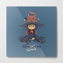 The Shortening Hat Metal Print