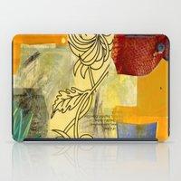 botanical iPad Cases featuring Botanical  by Alexandra Sheldon