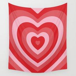 Hypnotic Hearts Wall Tapestry