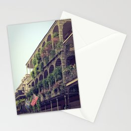 French Quarter Balconies - Royal Street Stationery Cards