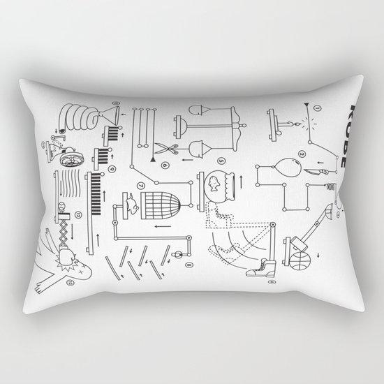 Rube Rectangular Pillow