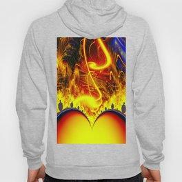 Firestorm from a double sun Hoody