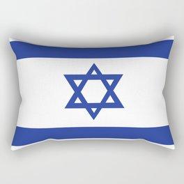 israel country flag david star Rectangular Pillow