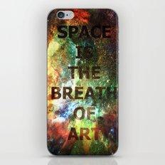 The Breath of Art iPhone & iPod Skin