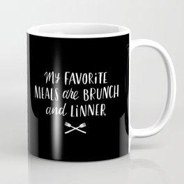 Favorite Meals Coffee Mug