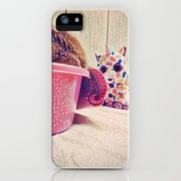 Some Friends have to Walk On Four Legs, Just So They Can Carry Around Such Big Hearts iPhone Case