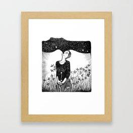 Full of Stars Framed Art Print