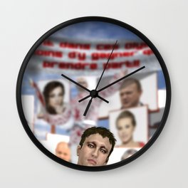 Walkout Wall Clock