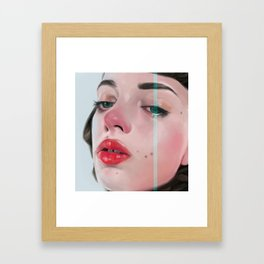 Kill for love Framed Art Print