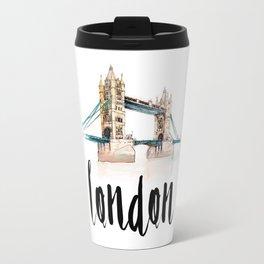 London watercolor Travel Mug