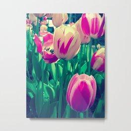 Flowers in Bloom Metal Print