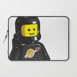 Vintage Black Spaceman Minifig Laptop Sleeve