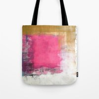 onward Tote Bags featuring Little spots move onward. by SAMO4PREZ