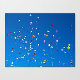 99 Balloons  Canvas Print