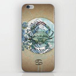 Zodiac Sign - Cancer iPhone Skin