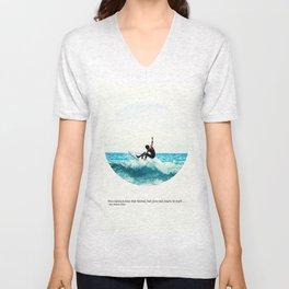Surf Quote Unisex V-Neck