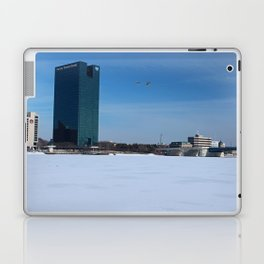 Toledo Fifth Third Bank Downtown in Winter Laptop & iPad Skin