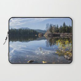 Beautiful Fall Day at Fish Lake Laptop Sleeve