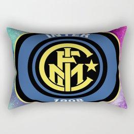 Inter Milan Galaxy Design Rectangular Pillow