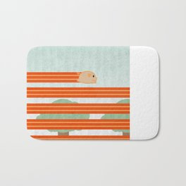 The Unstoppable Bacon Bath Mat