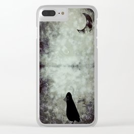 crow-109 Clear iPhone Case