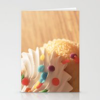 cupcake Stationery Cards featuring cupcake by Susigrafie