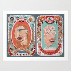 Monster Focals Art Print