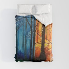 Forrest Fire Comforters
