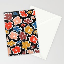 Rainbow Floral Stationery Cards