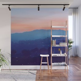 Complementary Twilight Wall Mural