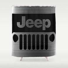jeep logo Shower Curtain