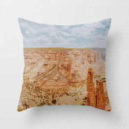 Desert Canyon IX / Arizona Throw Pillow