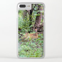 Forest Friend Clear iPhone Case