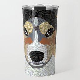 Zeke - mountain dog Travel Mug