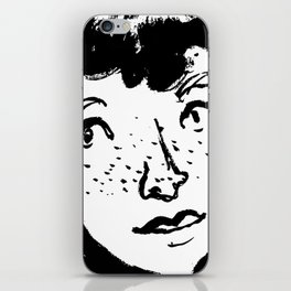 Ink Portrait iPhone Skin