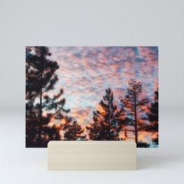Evening Sky California Mini Art Print